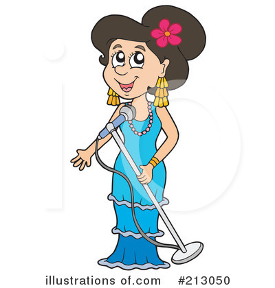 Singer Clipart  213050   Illustration By Visekart