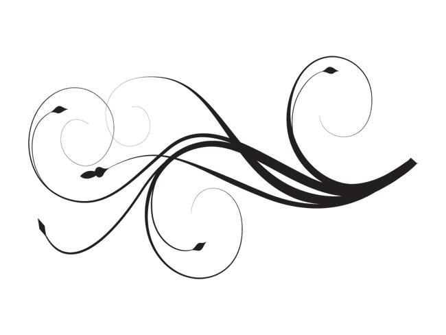 Elegant Swirl Designs Clipart - Clipart Kid