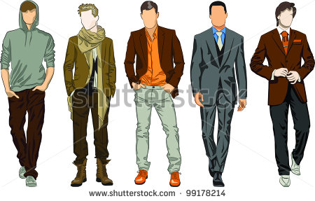 Vector Download   Fashion Men