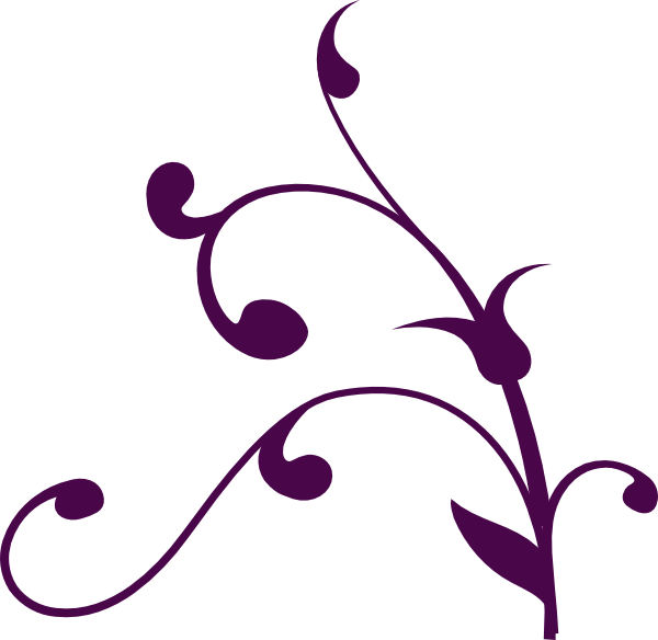 Wedding Corner Swirl Clip Art At Clker Com   Vector Clip Art Online