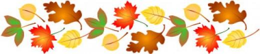 Image result for fall leaf banner clip art
