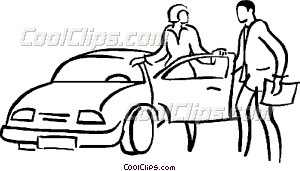Car Sales Vector Clip Art