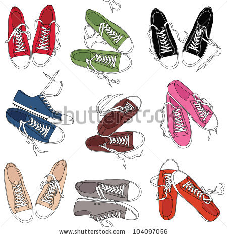 Clip Art Converse Shoes   Cheap Online T Shirt Maker