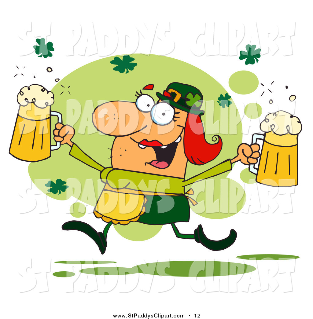 Displaying 20  Images For   Irish Beer Clipart