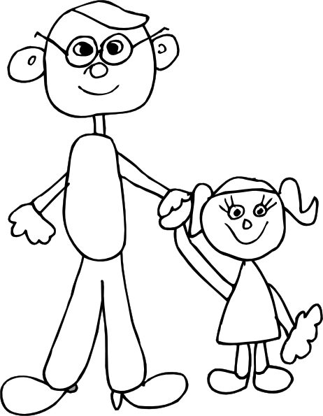 Family Coloring Pages   Coloring Lab