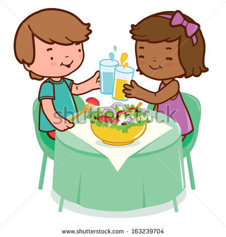 Kids Eating Healthy Clipart   Clipart Panda   Free Clipart Images