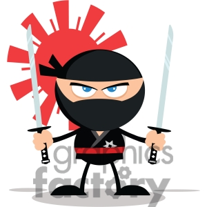 Ninja Clip Art Photos Vector Clipart Royalty Free Images   3
