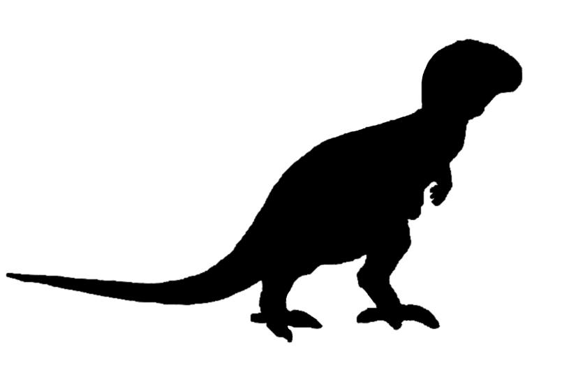 rex Silhouette Clipart - Clipart Kid