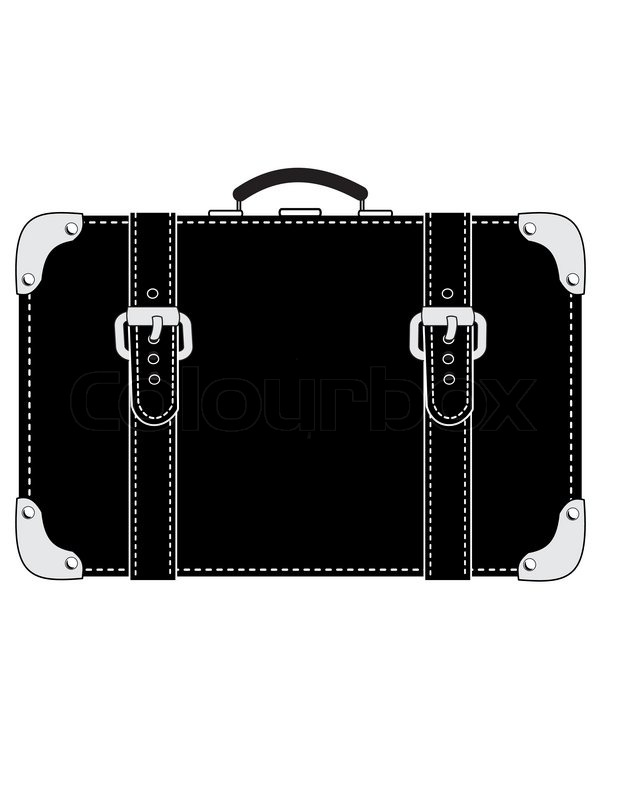 suitcase clipart black and white – Clipart Free Download