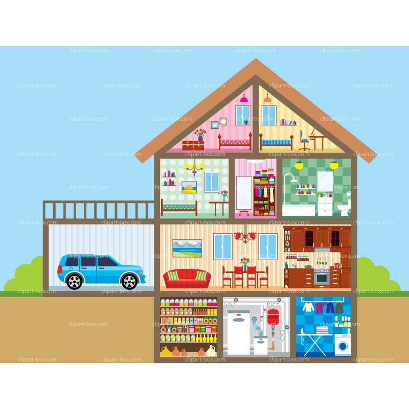 Clip Art House Interior Clipart - Clipart Kid