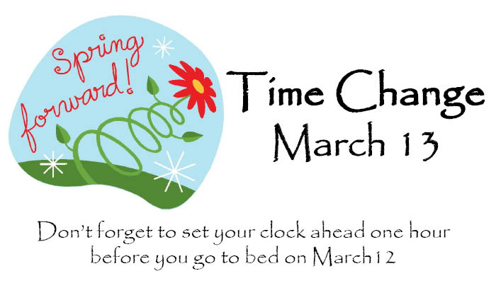 Daylight Savings Time 2011 Clip Art  Daylight Savings 2011 Clipart