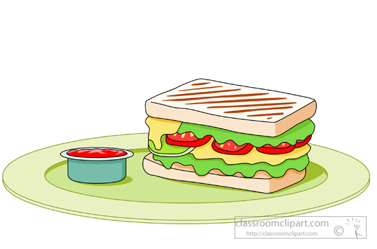 Download Grilled Sandwich With Cheese Tomatoes