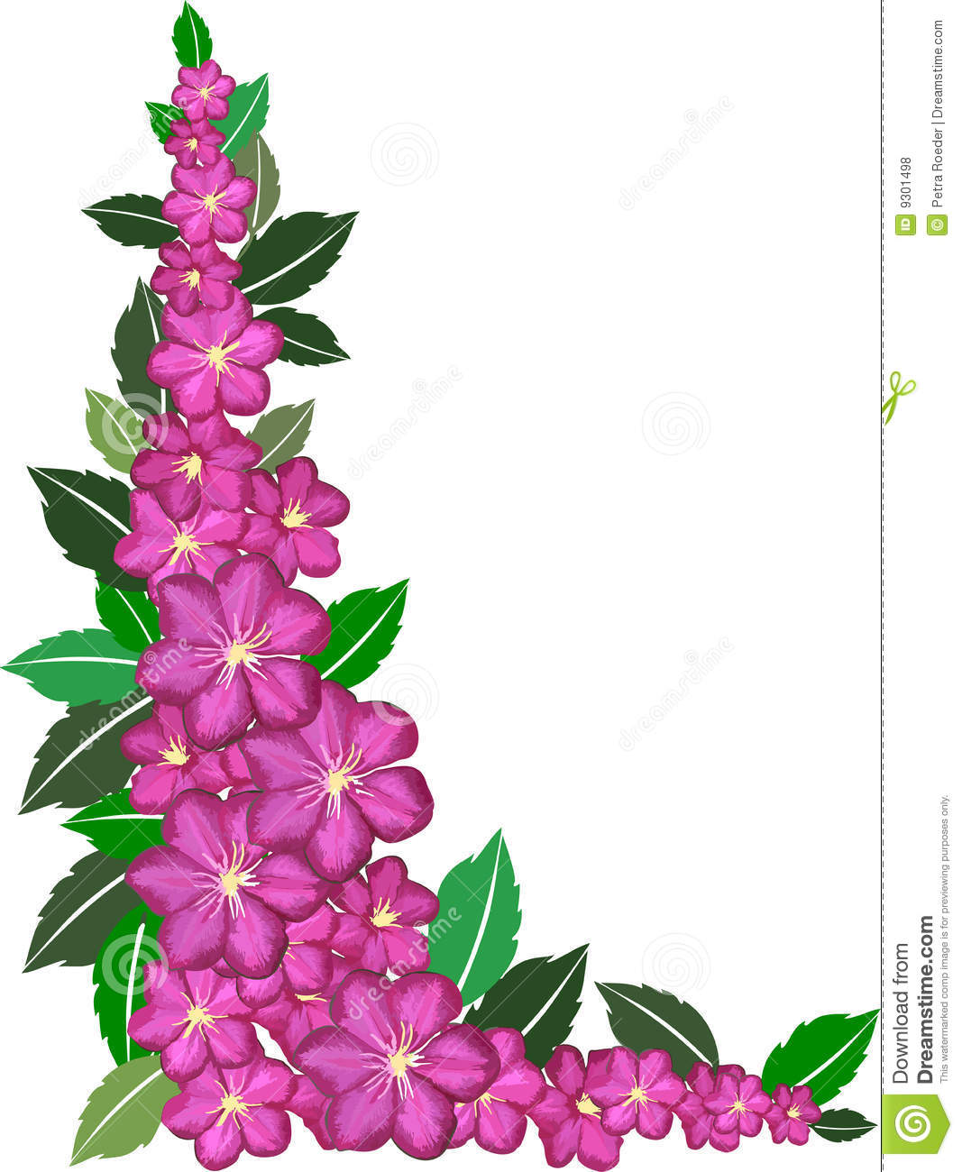 Flower Borders   Clipart Panda   Free Clipart Images
