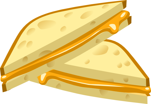 Grilled Cheese Clip Art At Clker Com   Vector Clip Art Online Royalty