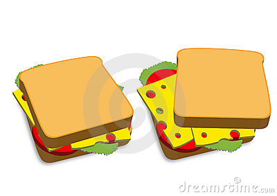 Grilled Cheese Sandwich Clipart 7615 Jpg