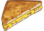Grilled Cheese Sandwich This Illustration Grilled Cheese Sandwich Is