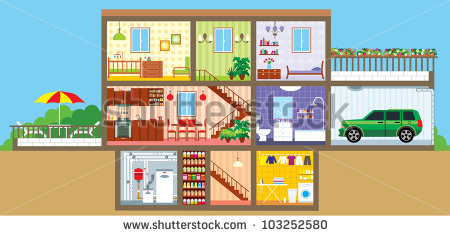 Inside House Stock Photos Images   Pictures   Shutterstock