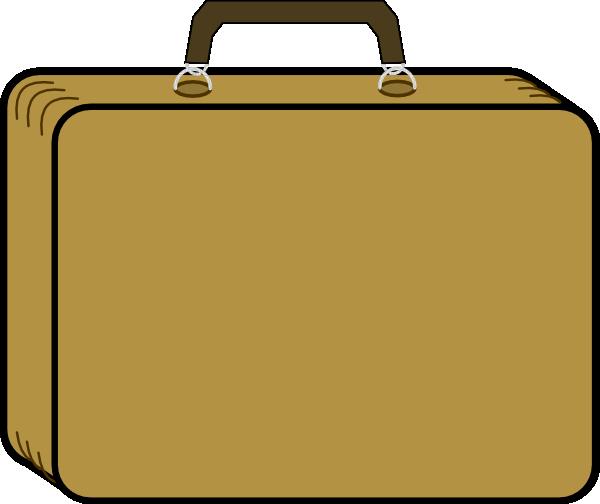 Clip Art Suitcase Clip Art suitcase clipart kid little tan clip art at clker com vector online