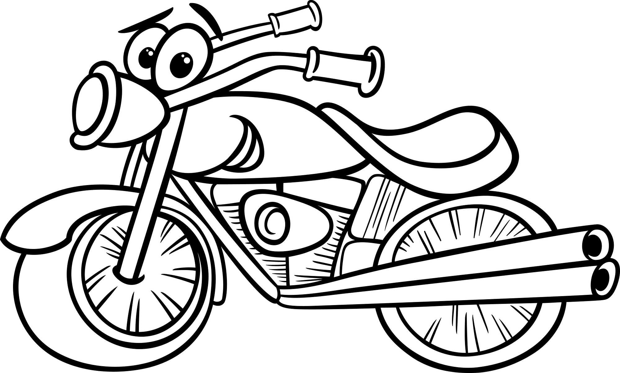 Black Motorcycle Sports Clipart Suggest