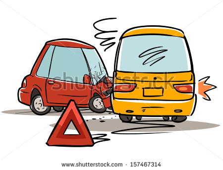Vector Images Illustrations And Cliparts  Car Accident  Red Triangle