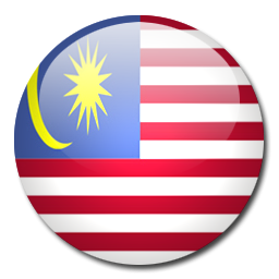 Button Flag Malaysia Icon Png Clipart Image   Iconbug Com