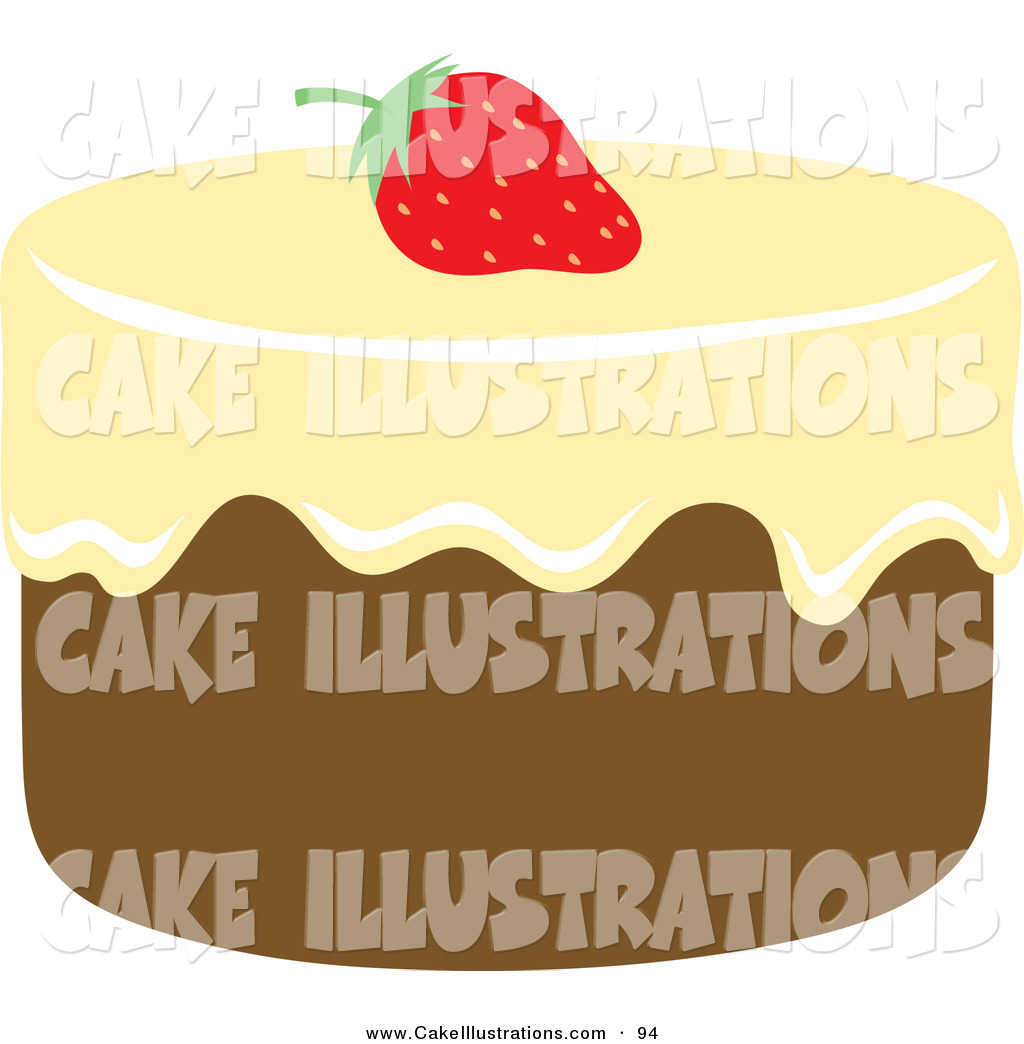 Cake Icing Clip Art : Chocolate Cake Clip Art Black And White Birthday Cake ...