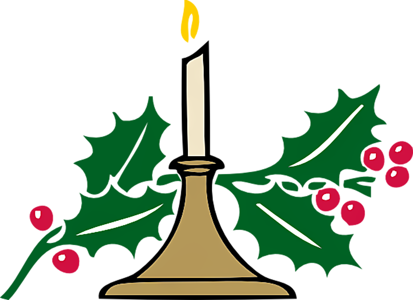 Christmas Vector Christmas Candle Clip Art High Resolution Lites Clip