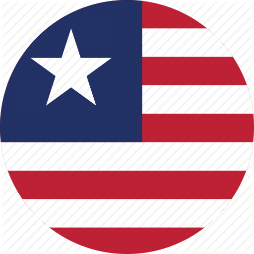 Circle Circular Country Flag Flag Of Liberia Flags Liberia