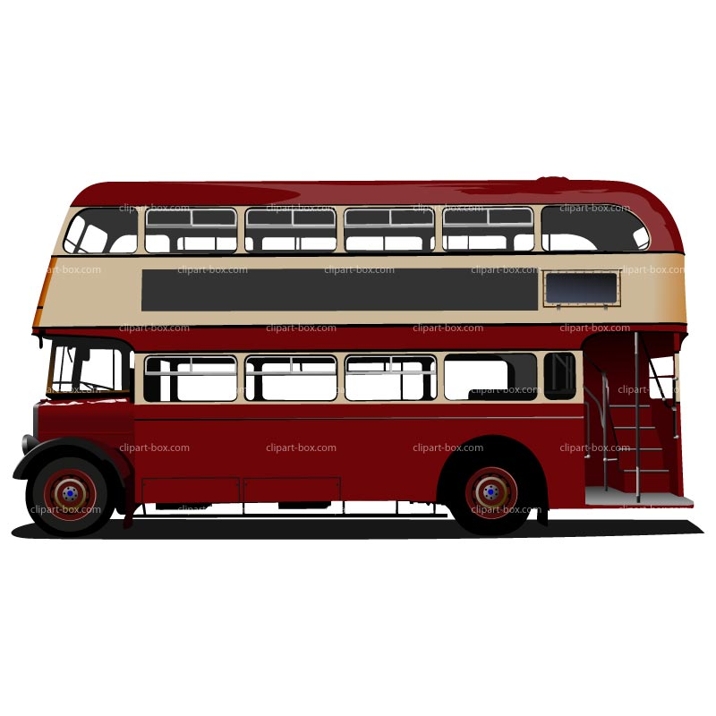 doubledecker london bus clipart clipart suggest