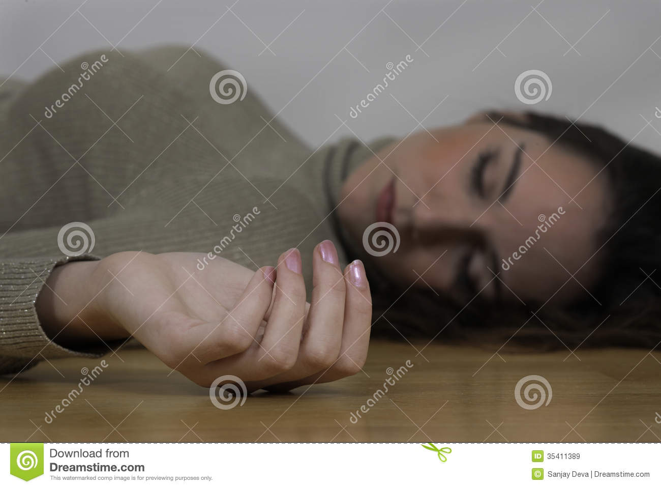 Dead Woman Royalty Free Stock Images   Image  35411389