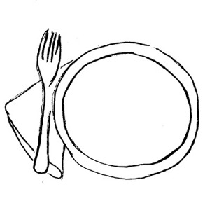 Dishes Clipart Clip Art Dishes