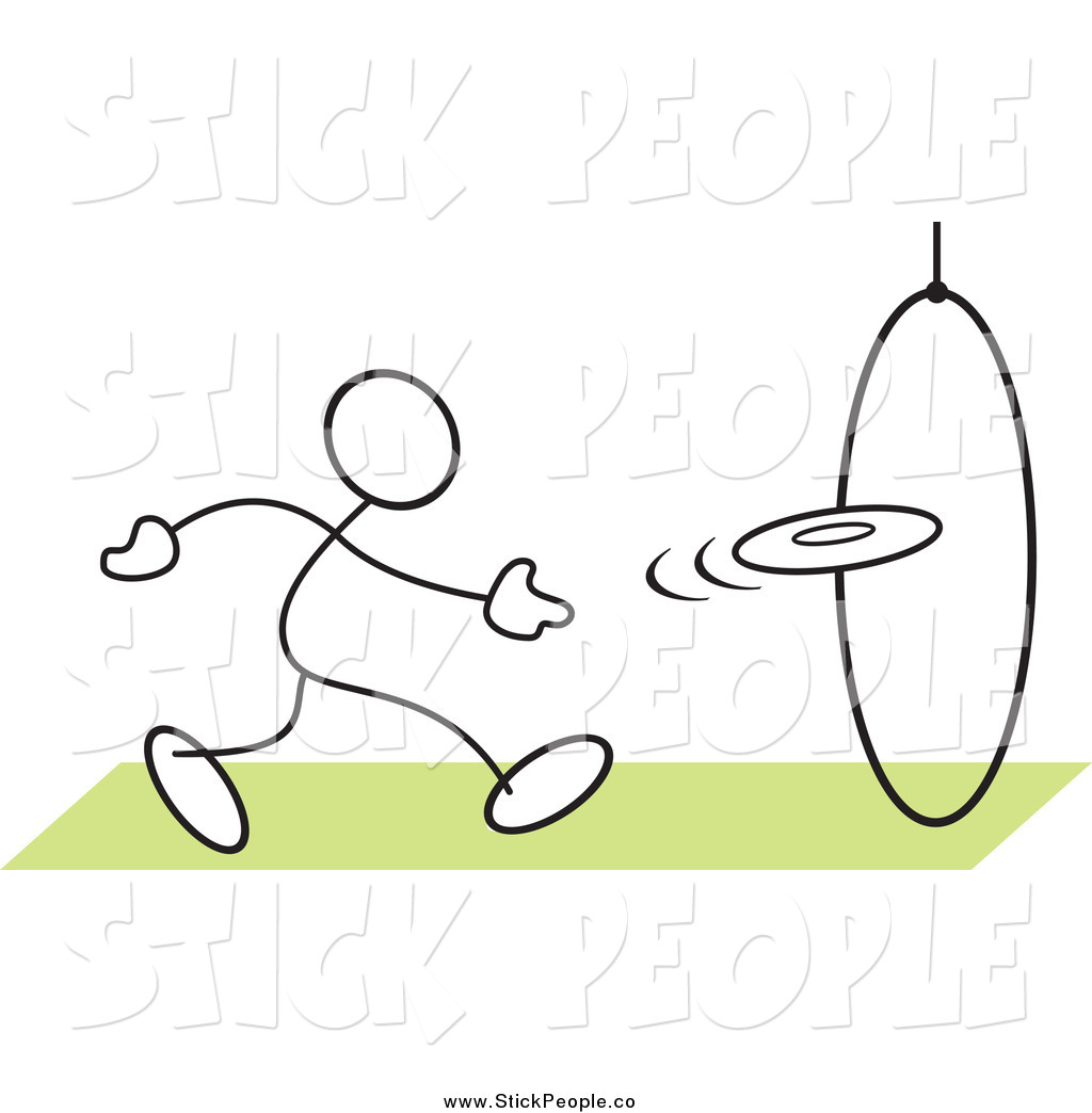 Dog Jumping Through Hoop Clipart Stick People Clipart   New