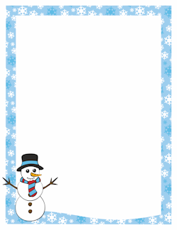 Winter Borders Microsoft Clipart - Clipart Kid