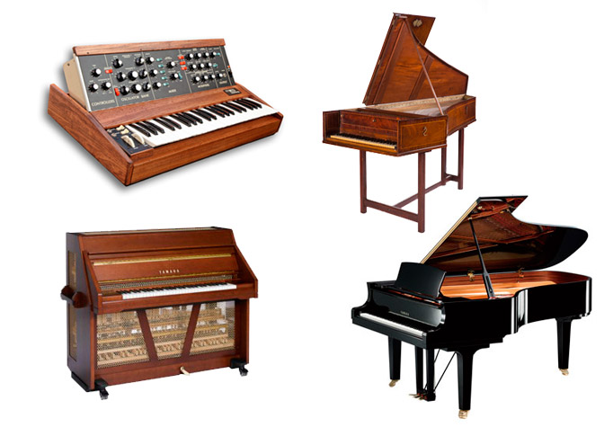 Cool Keyboard Instrument Clipart - Clipart Suggest