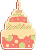 Layered Cake Layered Cake Layered Cake Angelic Kid Sweet Cake Vector