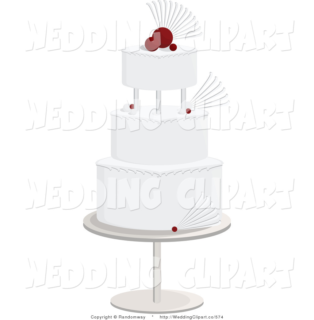 Layered White And Red Cake Wedding Layered Brown And Green Leaf Cake