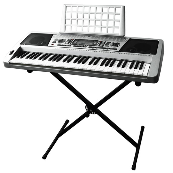 portable fun instruments Disc mk-5000 portable keyboard by gear4music, silver - the mk-5000 keyboard by gear4music is a fun instrument packed full of features this simple and easy-to-use.