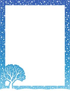 Winter Borders Clipart - Clipart Kid