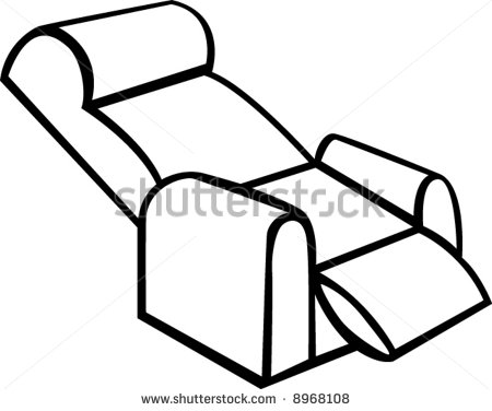 Recliner Chairs Clip Art   Easy Home Decorating Ideas