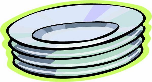Stack Of Dirty Dishes Clip Art Free