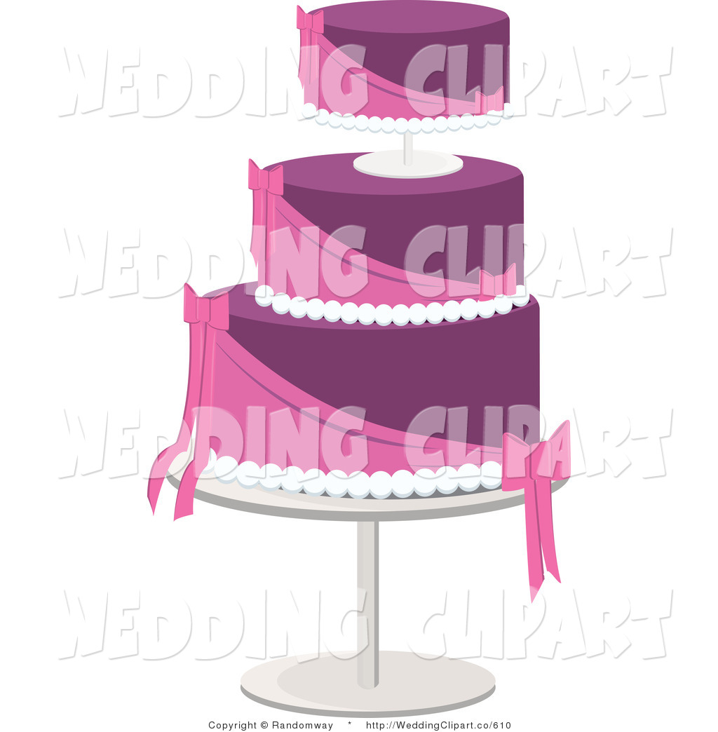 Wedding Layered Pink And Purple Cake March 14th 2012 Wedding Layered