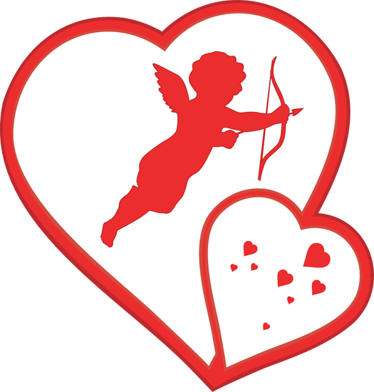 Cupid For Valentine's Day Clipart - Clipart Kid