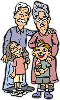 Free Grandparents Day Clipart   Graphics