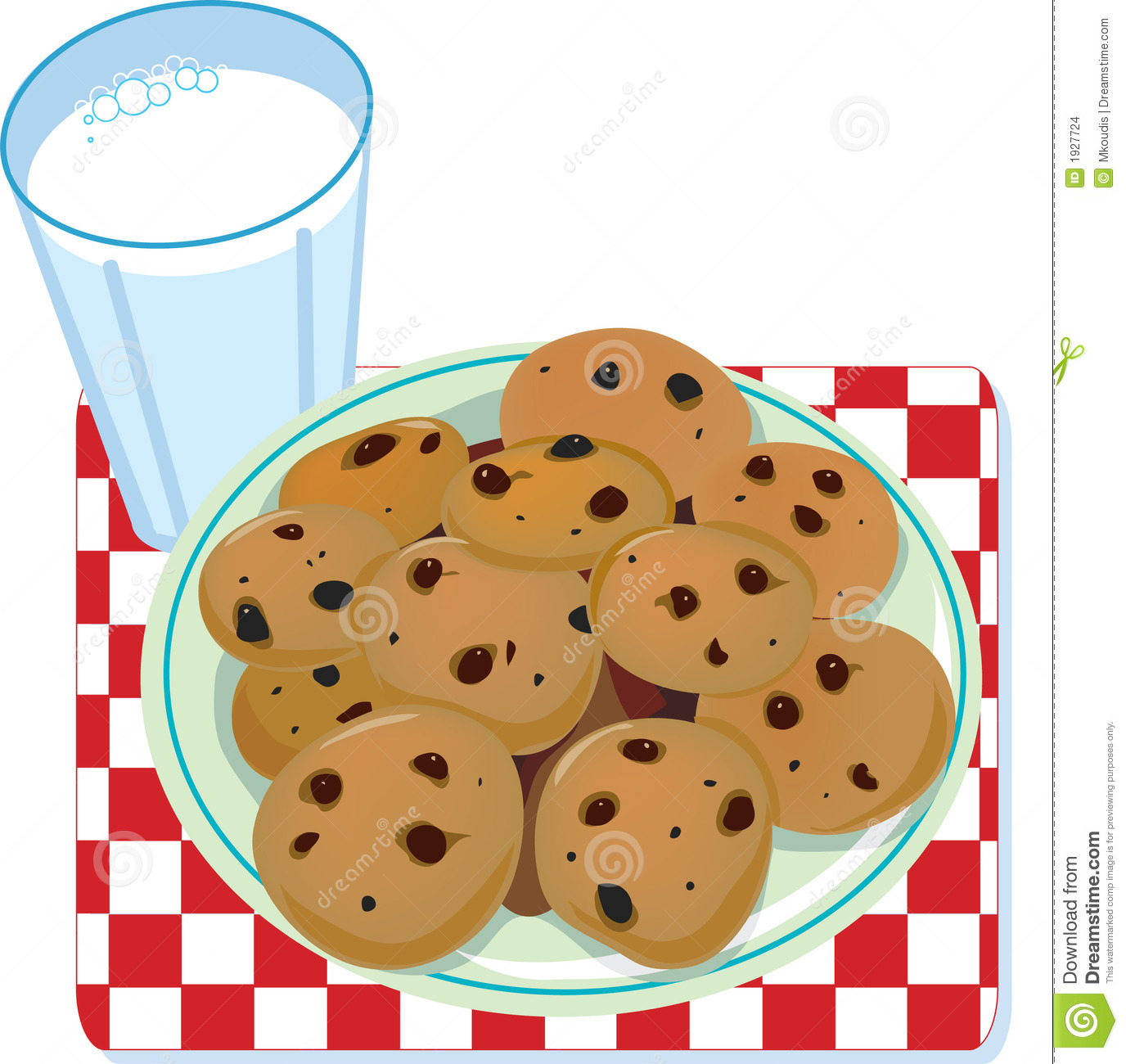 Clip Art Plate Of Cookies Clipart - Clipart Kid