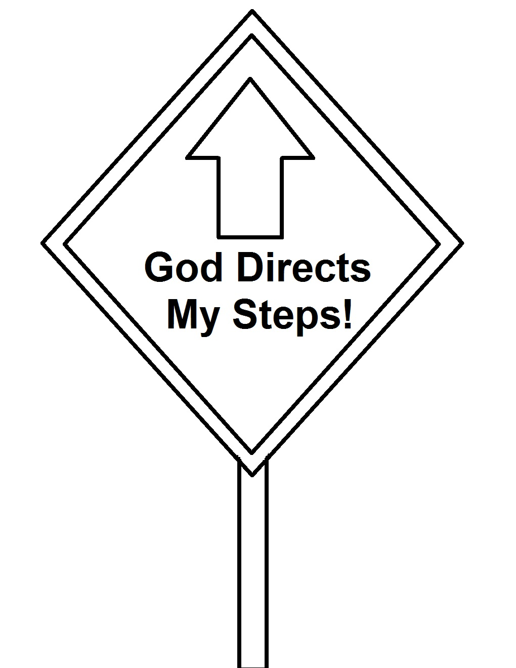 street sign coloring pages - photo#18