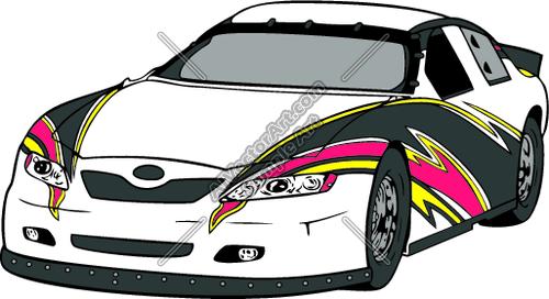 Clip Art Racing Cars S...