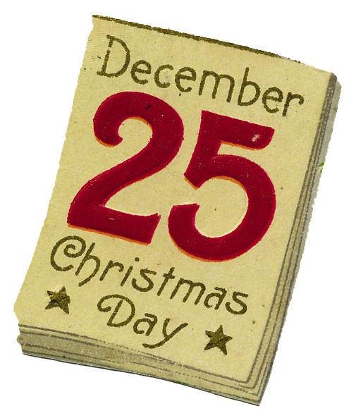 Clipart December 25th