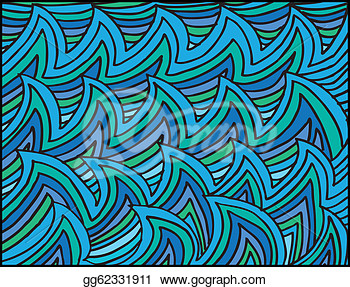 Art   Abstract Water Waves Background  Vector Illustration  Clipart