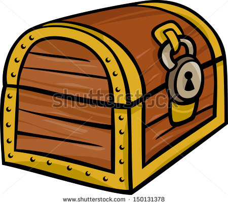Cartoon Treasure Chest Vector Stock Photos Illustrations And Vector