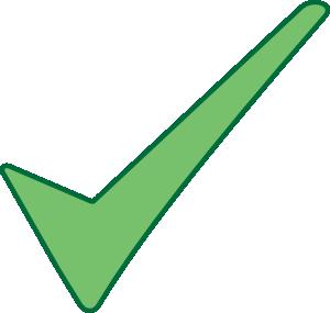 Check Mark Symbol Clip Art At Clker Com   Vector Clip Art Online